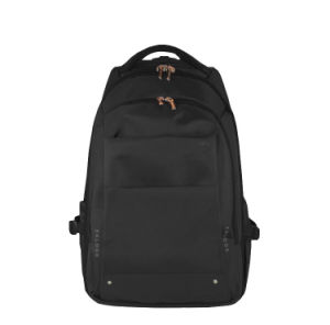 Black Shoulder Backpacking Laptop Bag Backpack (ST6235C) pictures & photos