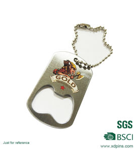 Metal Bottle Opener and Keychain for Promotional Gift pictures & photos