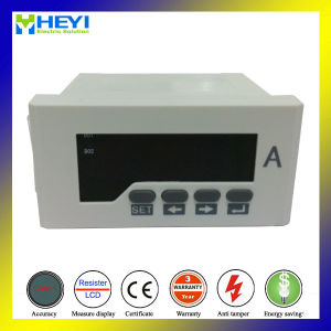 Rh-AA51 96*48 Hole Size Digital Panel Ammeter Measuring AC Digital Ammeter LED Display pictures & photos