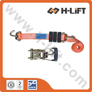 50mm or 35mm Carfix Lashing Straps / Transport Car Lashing pictures & photos