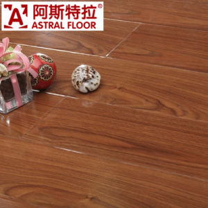8mm Mirror Surface (u-groove) Laminate Flooring (AD312) pictures & photos