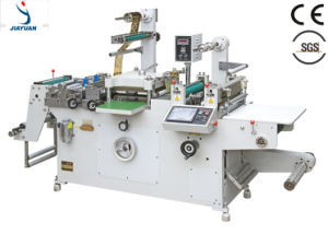PLC Controlled Full-Automatic Roll to Roll Adhesive Tape/ Label Platen Die Cutter/ Die Cutting Machine (JMQ-320A) pictures & photos