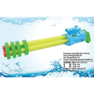 5 Tubes Plastic Outdoor Water Gun Summer Toy