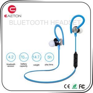 New Design Headphones Bluetooth 4.2 Wireless Earphones with Mic