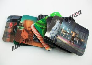 Good Quality 3D Lenticular Cup Pad pictures & photos