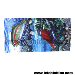 Hot Selling Trout and Salmon Fishing Scarf pictures & photos