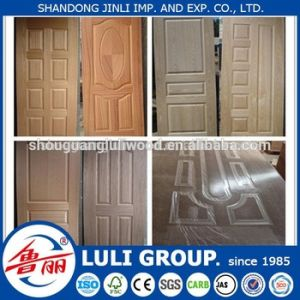 Natural Wood Veneer Faced HDF for Door Skin pictures & photos