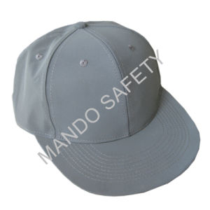 Grey Reflective Material Snapback Cap pictures & photos