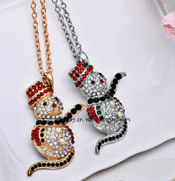 Christmas Jewelry/Christmas Necklace/Christmas Snow (XJW13350) pictures & photos