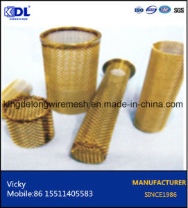 Copper/Brass/Bronze Squre Wire Cloth Filter pictures & photos