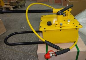 Hydraulic Manual Pump 10000psi Working Pressure Two Way Pumping (HHB-7000S) pictures & photos