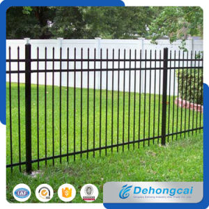 PVC Coated Galvanized Wrought Iron Fence From China pictures & photos