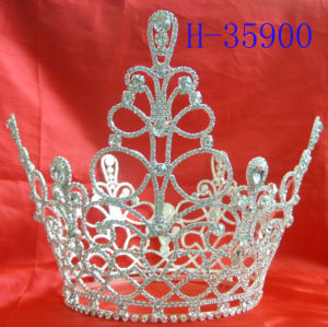 Pageant Tiara Crown for Prom for Princess, Rhinestone Tiara,