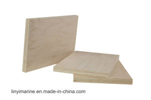 18mm Maple Face Plywood E1 E2 Glue Furniture Grade pictures & photos