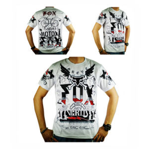 New Model White Breathable Short Sleeve Motorcycle Jersey (ASH20) pictures & photos