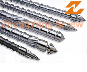 Injection Screw Barrel ABS Injection Screw Barrel Bimetallic Screw Barrel pictures & photos