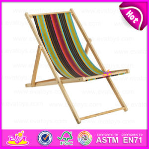 2015 Outdoor Garden Chair Wooden Chair, Latest Cheap Wooden Folding Beach Chair, Hot Selling Wooden Beach Chair W08g033 pictures & photos