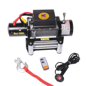 Nylon Rope Winch Electric Winch (SC10.0) pictures & photos
