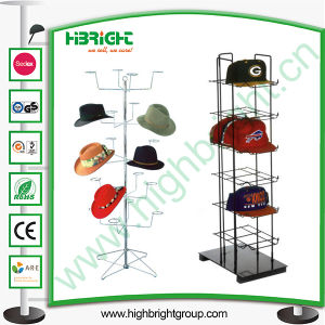 Wire Metal Hat Display Rack Display Hanger pictures & photos