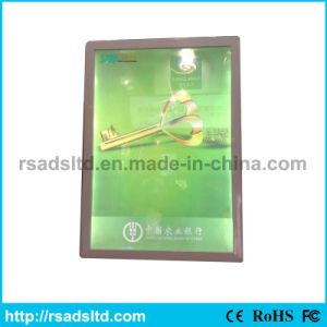 LED Slim Poster Frame Advertising Light Box pictures & photos