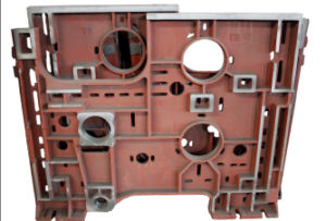 Sand Casting with Machinery Parts
