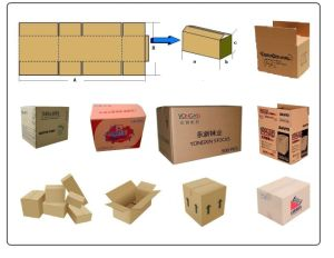 Complete Corrugated Carton Box Production Line pictures & photos