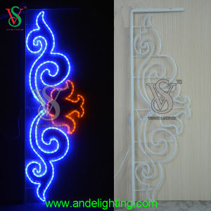 Street Light Pole Decoration Christmas Outdoor Light pictures & photos