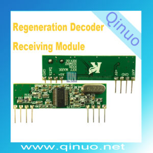 New Regeneration Decoder Receiving Module for Remote Control pictures & photos