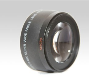 Wide Angle Lens 0.45X58mm for All 58mm Lens Camera
