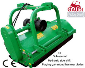 Dual Amounted, Hydraulic Side Shift Flail Mower (CE approved) pictures & photos