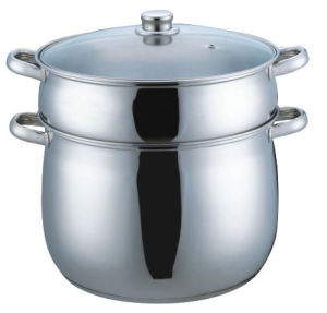 26cm Stainless Steel Couscous Pot (CP002) pictures & photos