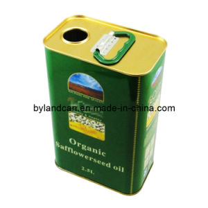 Metal Tin Can for Olive Oil 2.5 Liters (BC-ET-168) pictures & photos