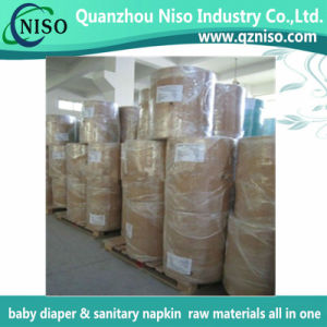 Cloth-Like Partial Laminating Film for Baby Diaper Backsheet with Ls-Plf0810 pictures & photos
