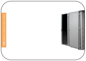 Standard Network Cabinet with Vertical Cable Management pictures & photos