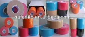 Waterproof Strapping Muscle Kinesio Tape, Therapeutic Kinesio Sport Tape pictures & photos