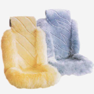 Universal Fit Sheepskin Shearling Auto Seat Cover pictures & photos