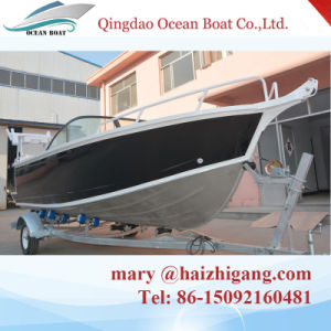5.0m Bowrider Boat Aluminum Fishing Yacht with Boat Seats pictures & photos