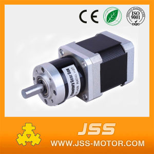 NEMA 17 Geared Stepper Motor with Gearbox (frame 42mm gear reducer) pictures & photos