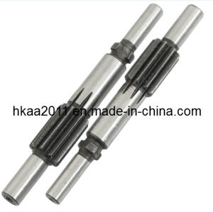 Custom Machining Stainless Steel Spur Gear Shaft pictures & photos