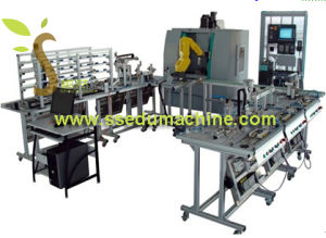 CNC Flexible Manufacture System Mechatronics Training Equipment Vocational Training Equipment