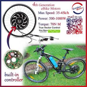 Sine Wave Controller Mountain E-Bike 1000watt Kits pictures & photos