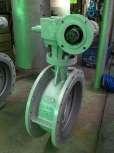 Wcb Dn400 Turbo Butterfly Valve (D343H-DN400-PN10) pictures & photos