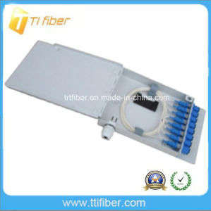 8 Port FTTH Customer Optical Sc Fiber Patch Panel/ Terminal Box pictures & photos