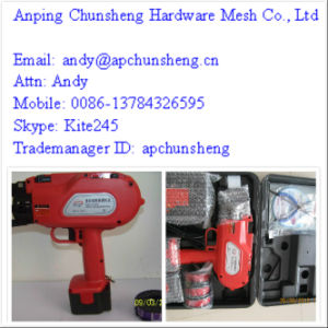 CE Approved Cordless Automatic Rebar Tying Machine pictures & photos