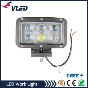 Super Bright 60W Spotlight LED Work Light off Road for Jeep Cabin Boat SUV Truck Car pictures & photos