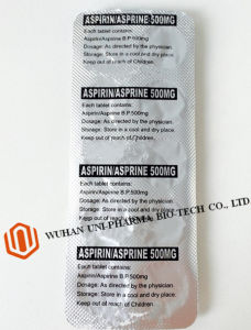 Western Medicine Acetylsalicylic Acid Bp500mg (ASPIRIN TABLETS/COMPRIMIDOS/COMPRIMES) pictures & photos