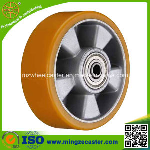 Heavy Duty PU Wheels for Hand Trolley pictures & photos
