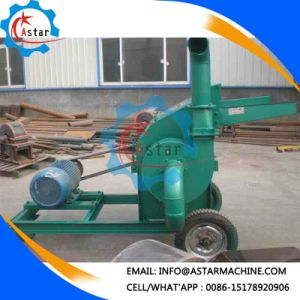 Mobile Type Corn Straw Stalk Hammer Mill for Sale pictures & photos