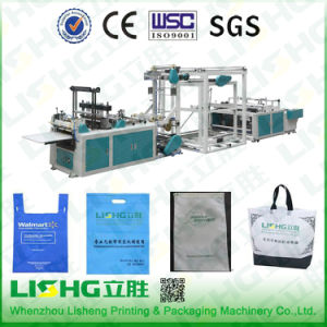 Lisheng High Quality Non Woven Fabric Bag Making Machine pictures & photos