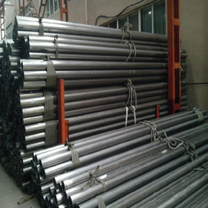 4.2meters Black Anneal Surface ERW Steel Pipe pictures & photos
